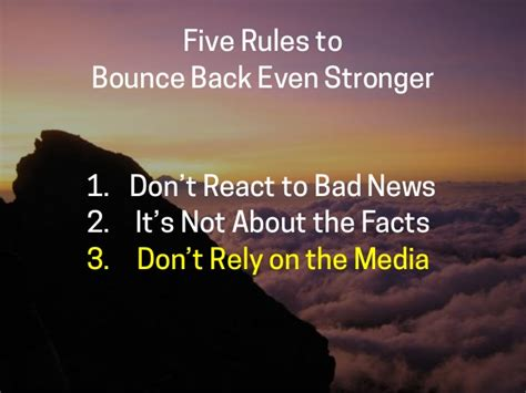 9 Ways To Bounce Back From A Up by Jeff Chatterton Bounce Back Even Stronger