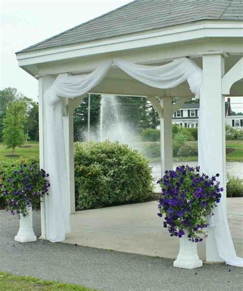 gazebo decorations 25 best ideas about wedding gazebo on gazebo