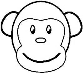 what color are monkeys monkey coloring page