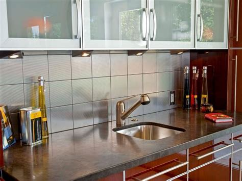 modern aquarium kitchen with a strong visual impact by tile for small kitchens pictures ideas tips from hgtv