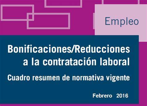 bonificaciones en contratos seguridad social 2016 bonificaciones seguridad social 2016