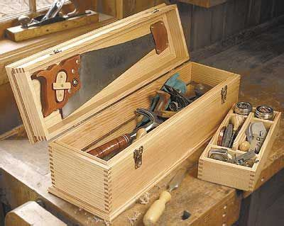 carpenters tool box plan wood working projects