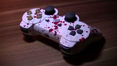 Plastik Lackieren Spraydose by Blood Splatter Effect Ps3 Controller Mod Umbau Sony Blut