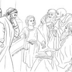 Jesus At The Temple As A Boy Coloring Page Free Coloring Page Of Jesus As A Boy In The Temple Archives by Jesus At The Temple As A Boy Coloring Page Free