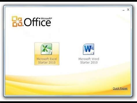 When Did The Office Start by Free Get Microsoft Office Starter Edition 2010 For
