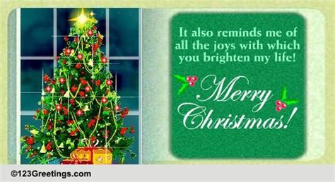 brighten   life  spirit  christmas ecards