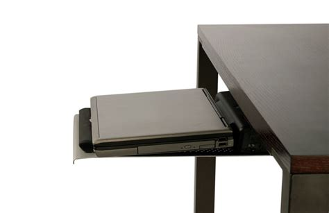 under desk laptop tray tech tray desktop organizer by humanscale