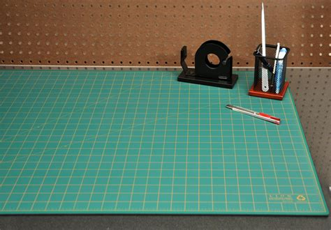 Large Cutting Mats by Post Consumer Recycled Large Cutting Mat 24 X 36 Green