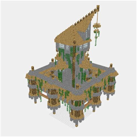 Small Mansion House Plans mineprints view minecraft creations layer by layer