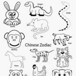 coloring pages chinese zodiac animals chinese zodiac horse coloring pages