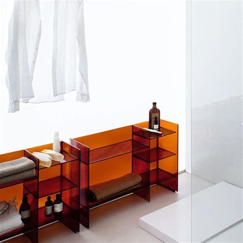 kartell mobili bagno sound rack mobile bagno kartell by laufen impilabile