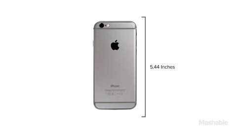 iphone 6 and iphone 6 plus design and dimensions mashable