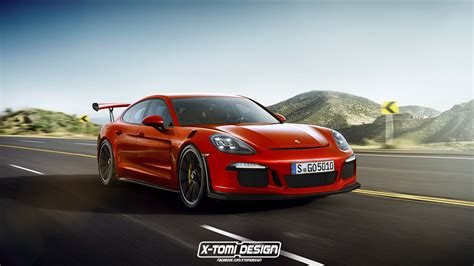 porsche panamera 2017 gts 2017 porsche panamera gt3 rs rendered as the racing sedan