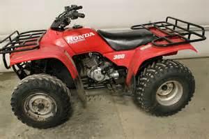 Honda 300 Four Wheeler 1994 2x4 Honda 300 Fourtrax Four 4 Wheeler Atv No Reserve