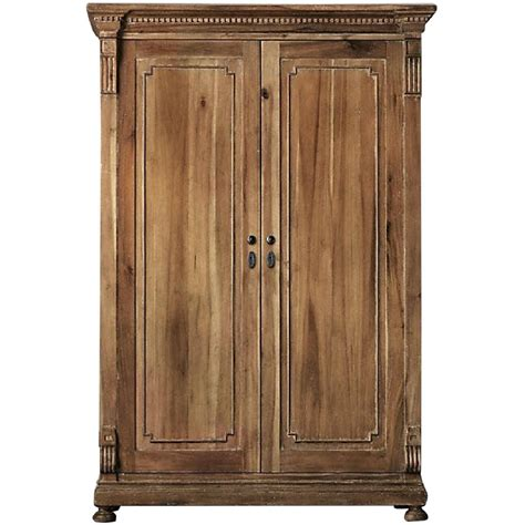 restoration hardware armoire used armoires wardrobes for sale in nyc aptdeco