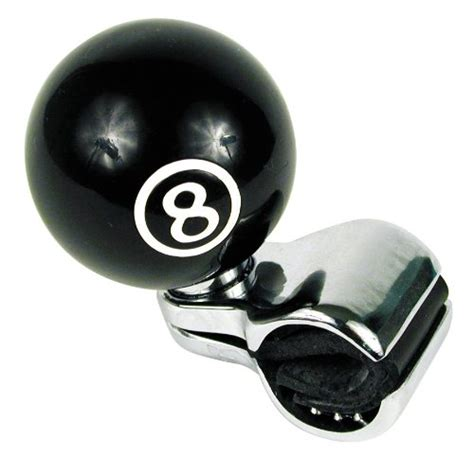 Steering Wheel Knob by Custom Accessories 16258 Black 8 Style Steering Wheel