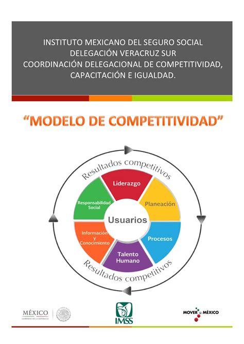 el modelo coach para calam 233 o modelo de competitividad