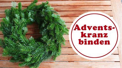 Adventskränze Binden by Adventskranz Binden Einfach Erkl 228 Rt