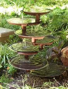 backyard fountains triyae waterfall fountains for backyard various