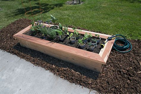 Building A Planter Bed by Upgrade Your Garden With A Diy Planter Bed Diy Done Right