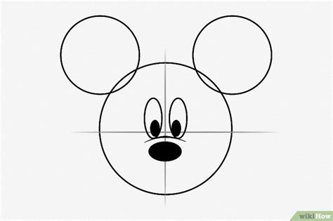 Comment Dessiner Mickey Mouse 8 233 Tapes Wikihow