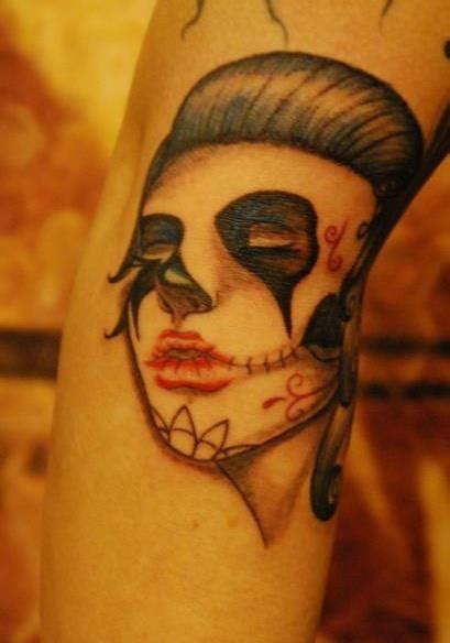 7 seas tattoo 30 best day of the dead tattoos images on