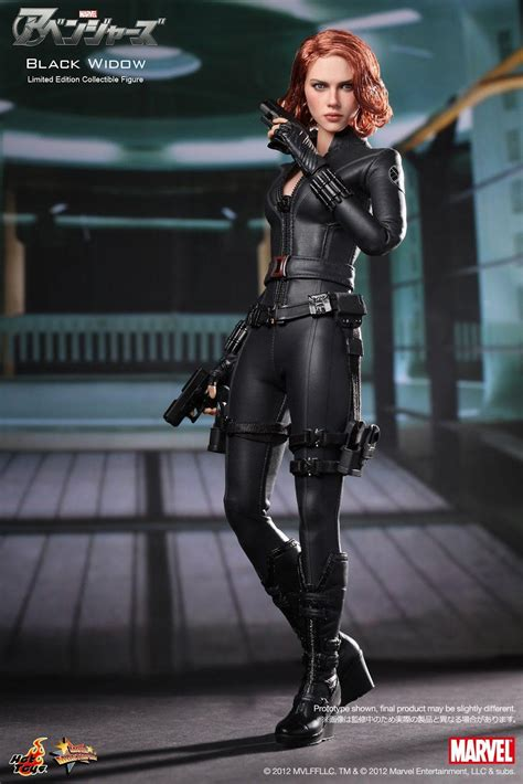 black widow hot onesixthscalepictures hot toys the avengers black widow