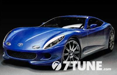 Modification Mobil Sport by Sports New Cars Modif Mobil Sport Coupe Kerjasama Toyota