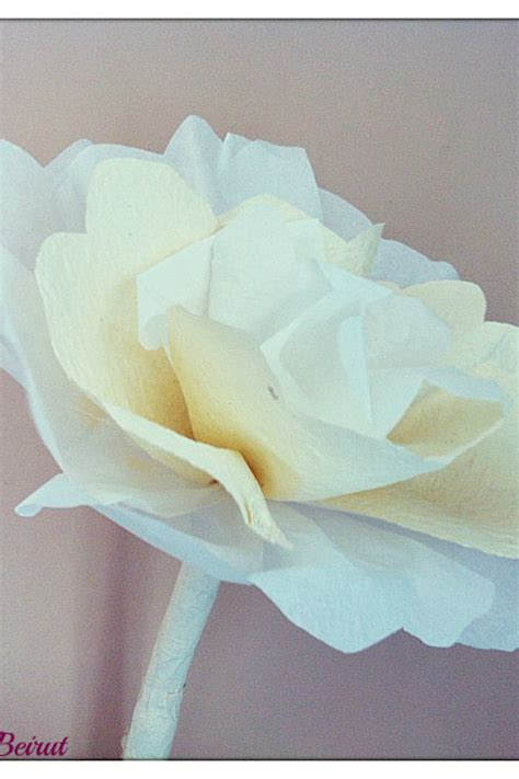 How To Make Large Paper - diy paper flowers