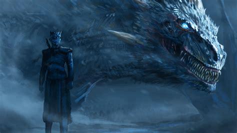 wallpaper 4k dragon night king blue eyes white dragon hd 4k wallpaper