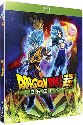 dragon ball super broly film blu ray dvd