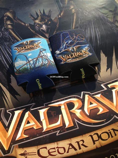 Cedar Point Giveaway - cedar point valravn beer koozies giveaway cp food blog