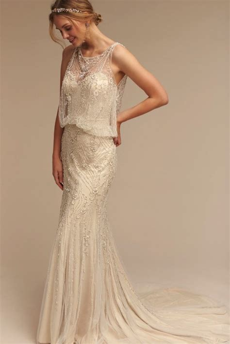 deco style wedding vintage style wedding dresses bhldn deco weddings