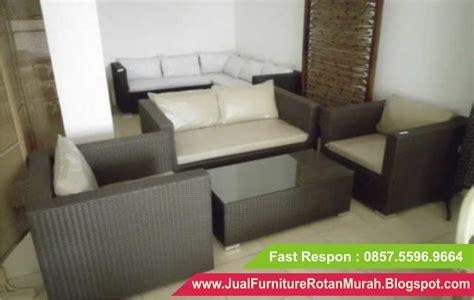 Jual Kursi Tamu Bekas Jakarta jual sofa rotan murah sofa rotan sintetis minimalis