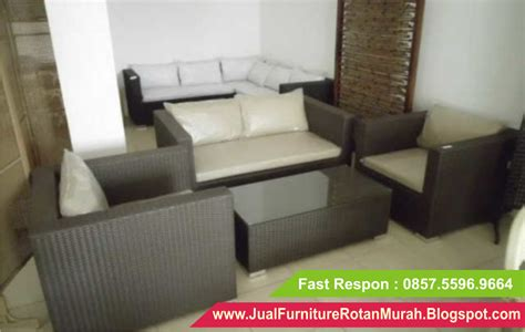 Sofa Ruang Tamu Murah Bandung jual sofa rotan murah sofa rotan sintetis minimalis