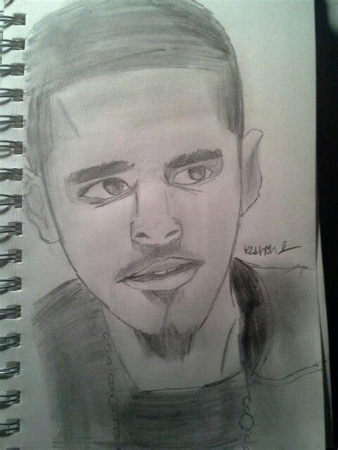 Drawing J Cole by J Cole Drawing Drawings Drawings