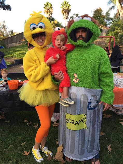 family halloween costumes sesame street big bird