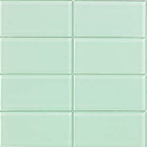 surf glass subway tile 3x6 for backsplashes showers more lush 3x6 surf pale green glass subway tile surf lush