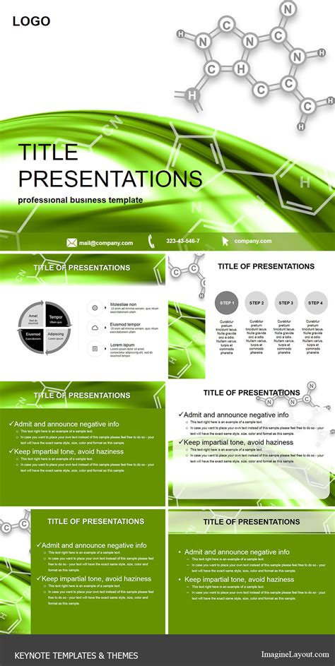 keynote themes science molecular structure keynote templates imaginelayout com