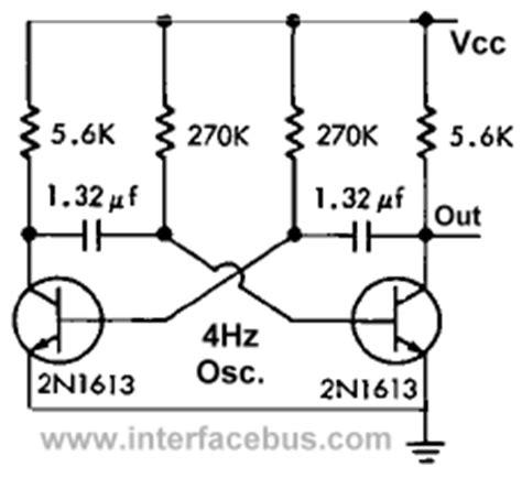 transistor oscillator circuit gt circuits gt multivibrator l45921 next gr