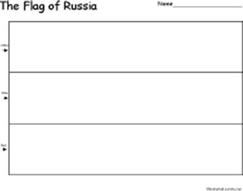russian flag template russia s flag enchantedlearning