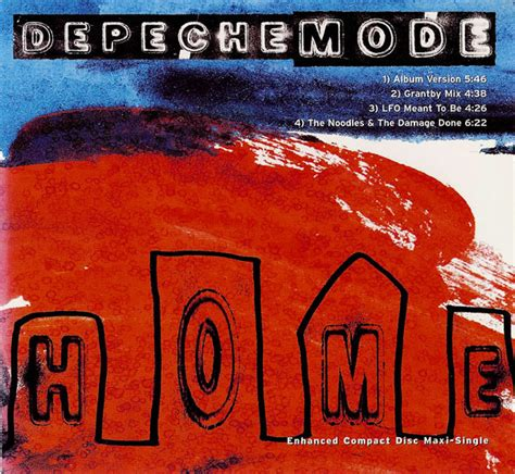 depeche mode home useless cd at discogs