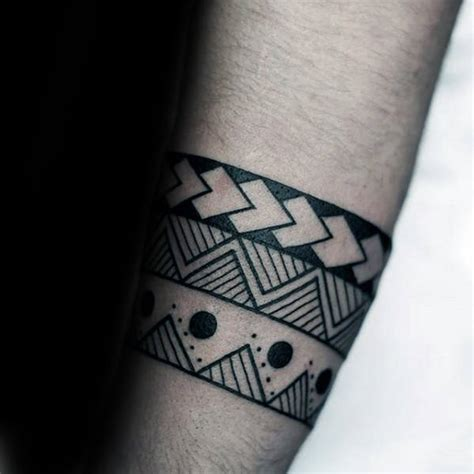 simple tribal tattoos for guys 50 tribal armband designs for masculine ink ideas