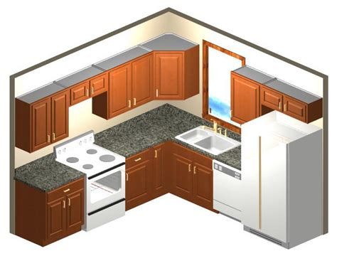 10x10 kitchen floor plans contact us