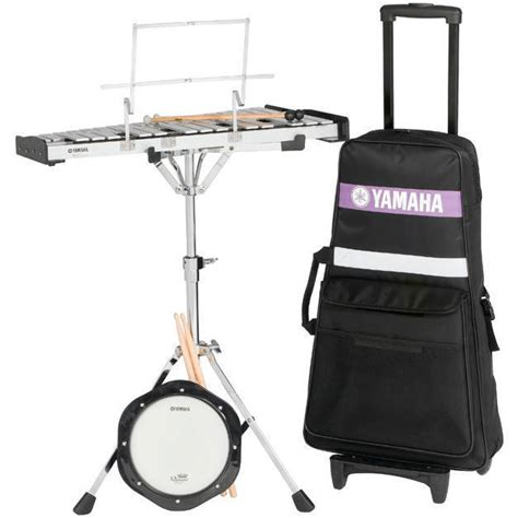 Marching Bell Yamaha yamaha student bell kit w rolling cart mcquade