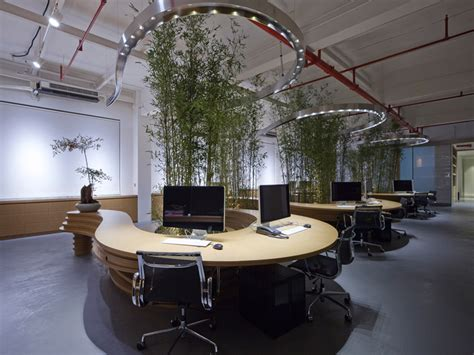ufficio pra firenze jw associates plants bamboo office interior in shanghai