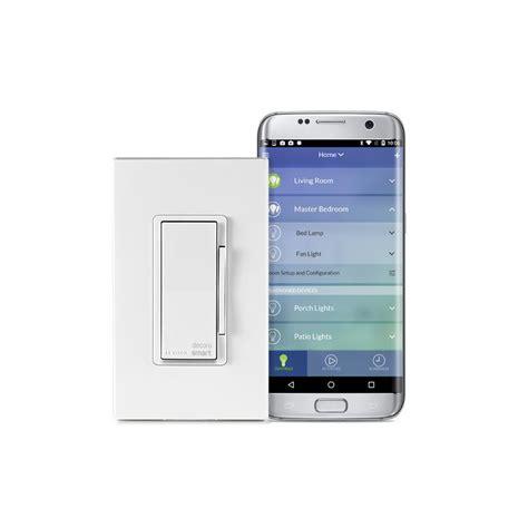 wifi light switch dimmer leviton decora smart wi fi 600w universal led incandescent