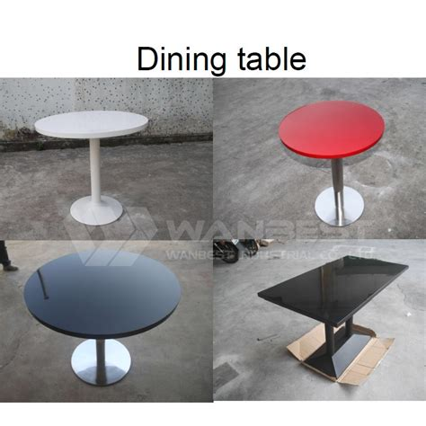 villa dining tables marble top and metal leg glacier white square artificial marble top restaurant dining table with metal leg from china