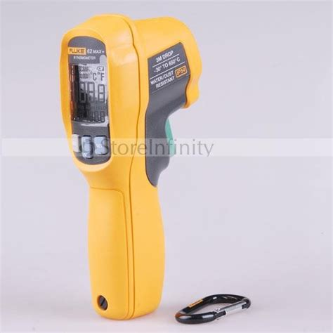 Fluke 62max Ir Thermometer Infrared Thermometer 30 650 fluke 62 max dual laser infrared thermometer 30 176 c 650 176 c us ship