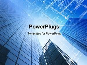 Construction Powerpoint Presentation Templates by Technical Cad Documentation Architectural Background
